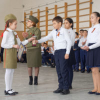 Ежегодный парад военных войск, посвящённый памяти Данильченко Ю.Л. и Дню защитника Отечества