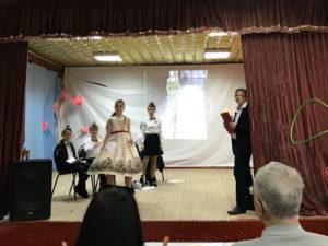 Отряд Юных инспекторов принял участие в городском конкурсе агитбригад