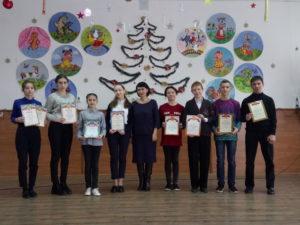 Награждение победителей и призёров муниципального этапа предметных олимпиад