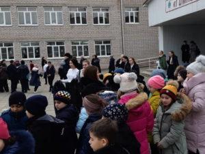 Учебная тренировка по эвакуации обучающихся и педагогов из здания МБОУ «Гимназия №18»