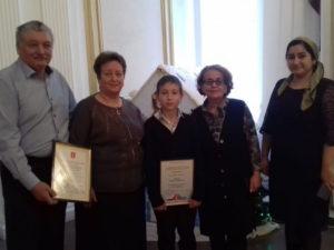 Церемония награждения учеников станции «Юных техников»