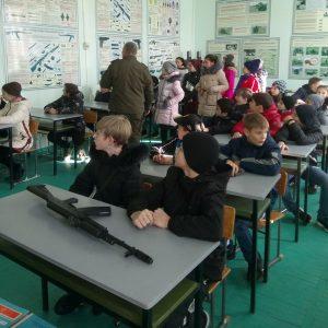 Учащиеся 6-7 классов гимназии посетили Пост №1