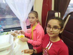 Учащаяся гимназии Хубиева Амина (6 А класс), в числе делегации детей из КЧР отправилась на главную ёлку страны в Кремль