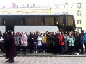 1 февраля в рамках работы городского клуба выходного дня была организована поездка в город Ставрополь с посещением исторического музея