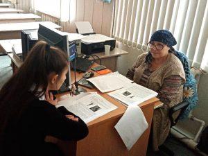 Проходит итоговое собеседование в МБОУ «Гимназия №18» г.Черкесска