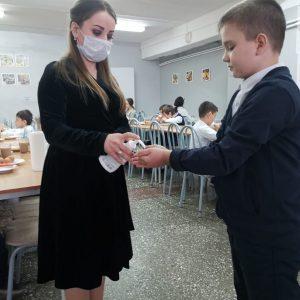 МБОУ «Гимназия № 18» участвует в конкурсе «Лучшая школьная столовая — 2020»